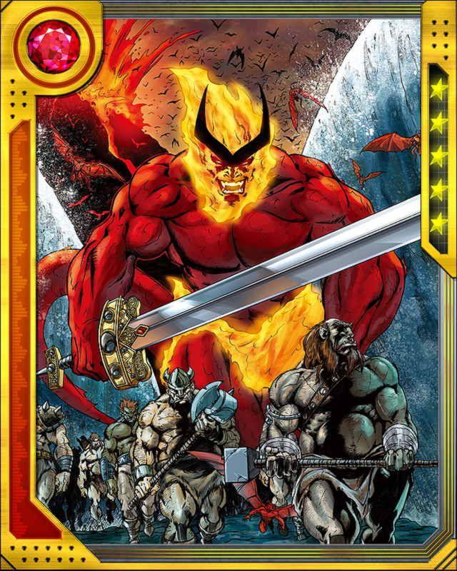 Lord of Muspelheim Surtur | Surtur | Marvel characters