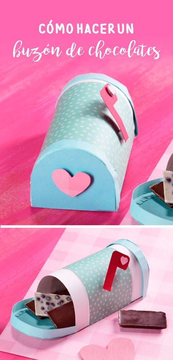 Como Hacer Un Buzon De Chocolates Craft Ideas