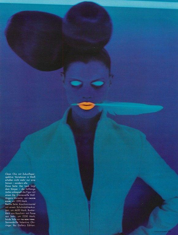 Malgosia Bela By Ruven Afanador/ Vogue Germany
