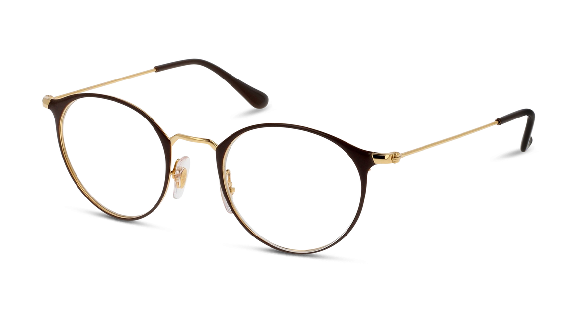 Ray Ban Brille Rund Gold Brille Ray Ban Brille Damen Brille Rund