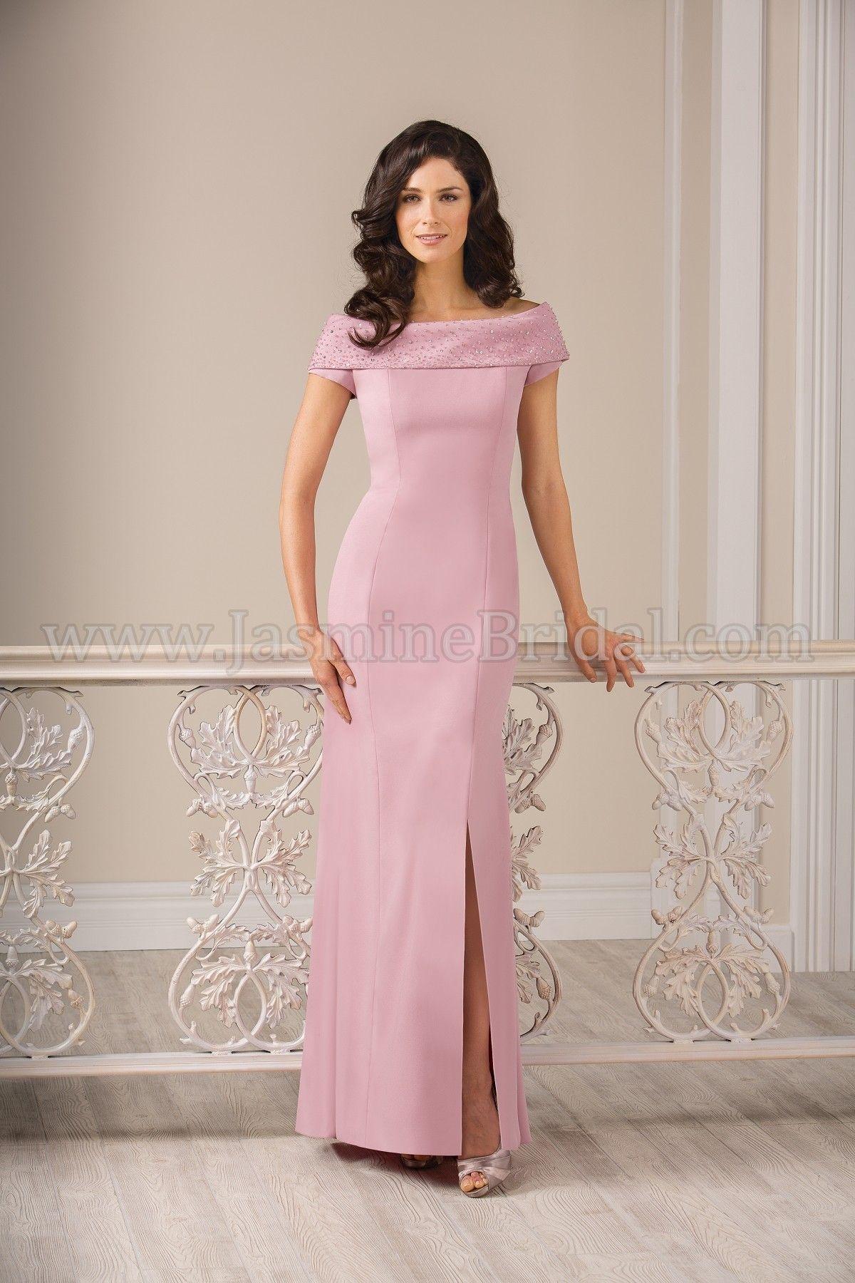 Jasmine Bridal Jade Style J185009 In Rose Petal Pink