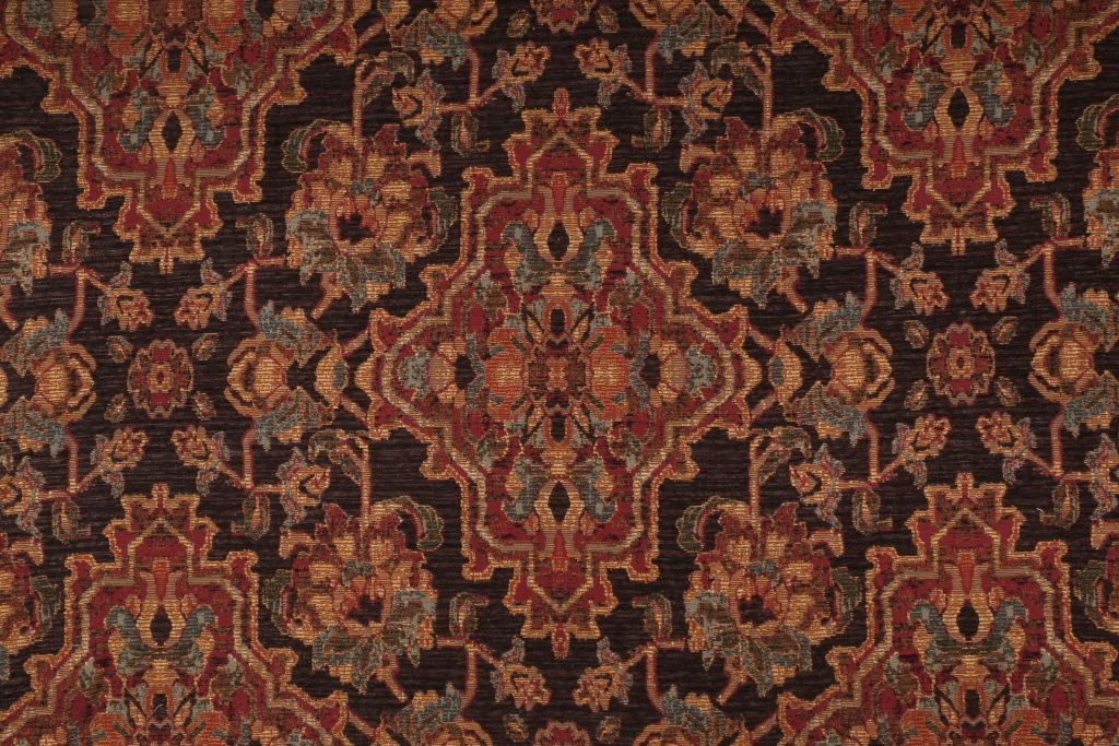 Savan In Night Chenille Tapestry Upholstery Fabric By Tfa 14 95 Per