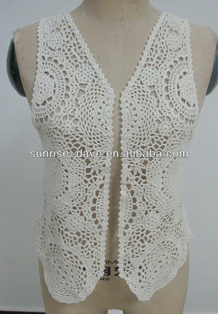 Free Cotton Crochet Vest Pattern Design Buy Free Vest Crochet