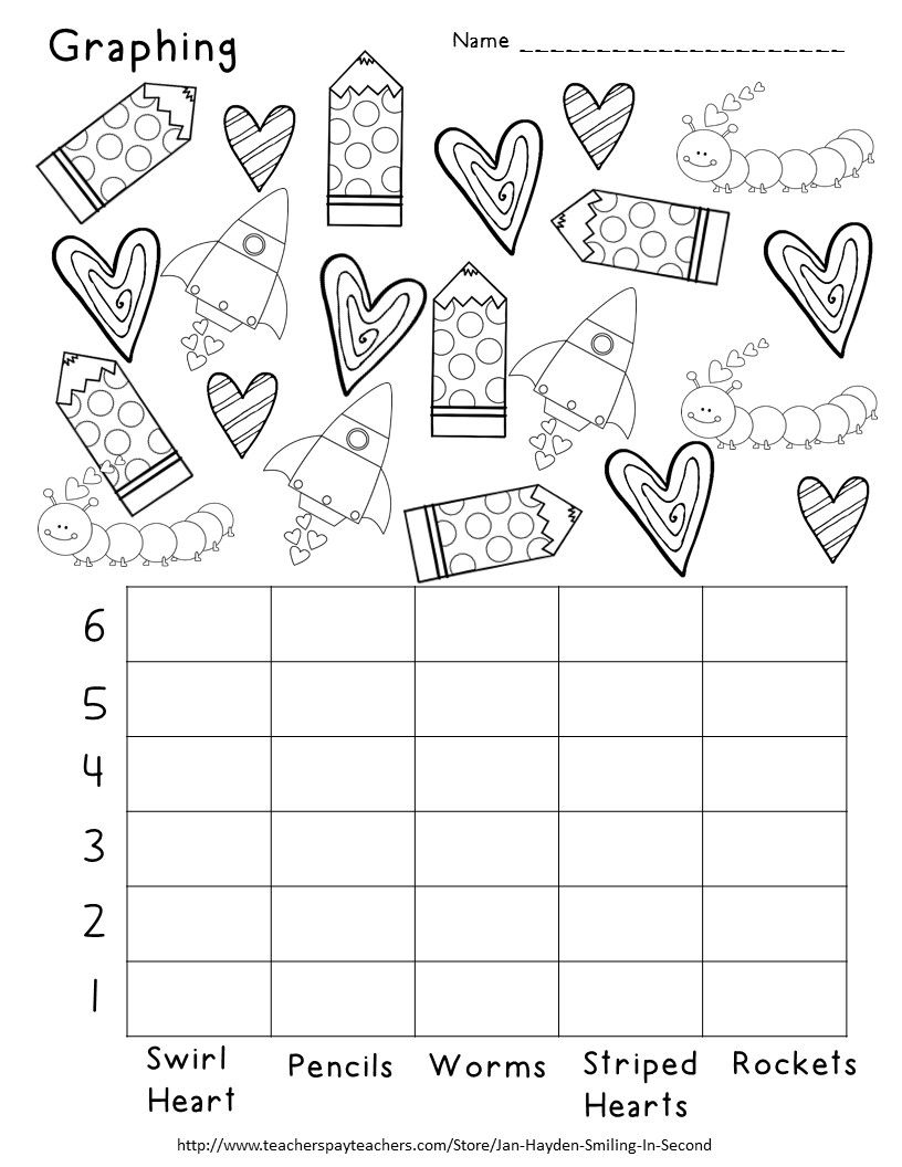 Valentine S Day Graphing Valentine Worksheets Math Valentines