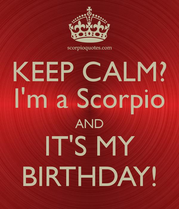 scorpio horoscope born october 16