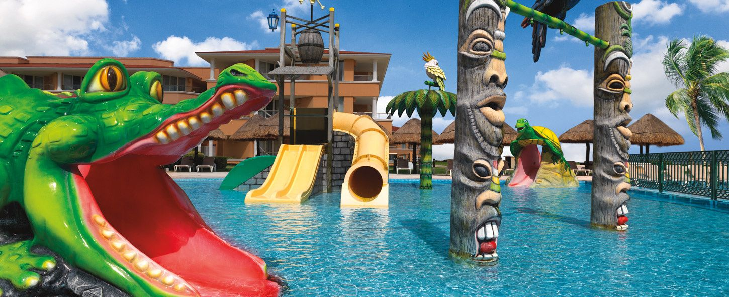 Luxury Cancun Family Resorts Moon Palace Golf Spa Resort - All inclusive family resorts caribbean