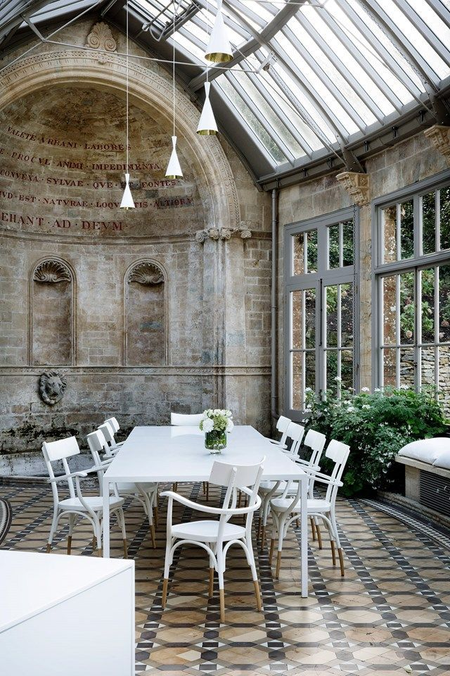 I Want To Live In This Room is part of Garden room, Home and garden, Orangery, Architecture, Georgian homes, House - David Nicholls dreams of spending time in this gorgeous Georgian orangery featured in our September 2016 issue  Can you blame him  Discover amazing rooms on HOUSE  design, food and travel by House & Garden
