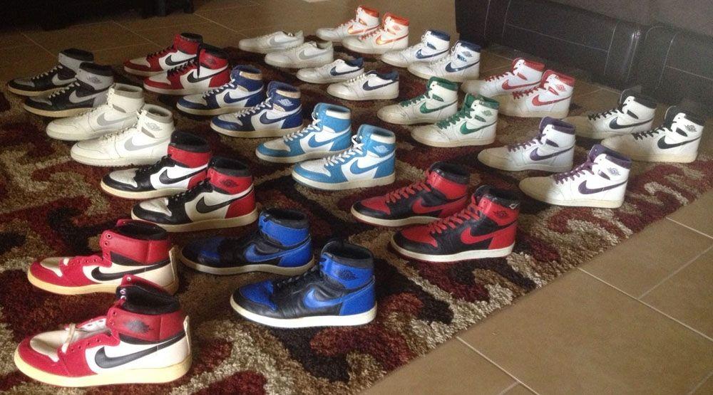 You Can Buy 17 Pairs of Original Air Jordan 1s for $50,000