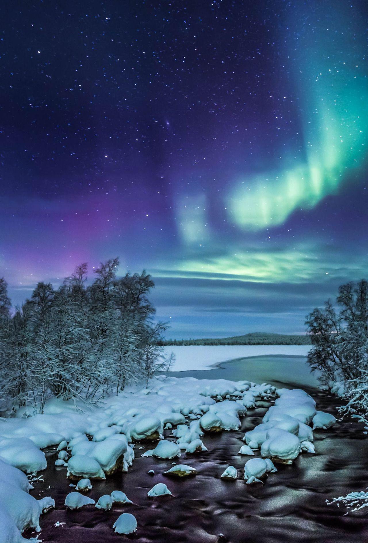 Flaming Sky by Antti Kulmanen