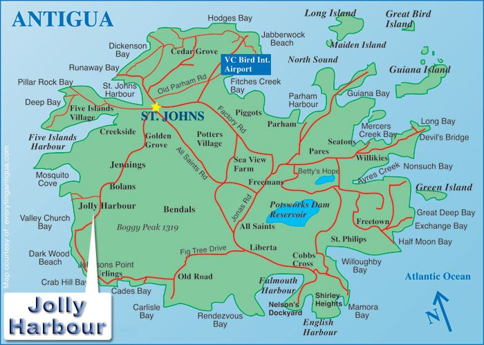 Antigua Map Google Search 25 Islands Amp Counting
