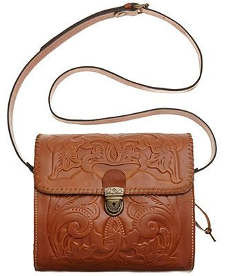 Patricia Nash Tooled Dante Crossbody