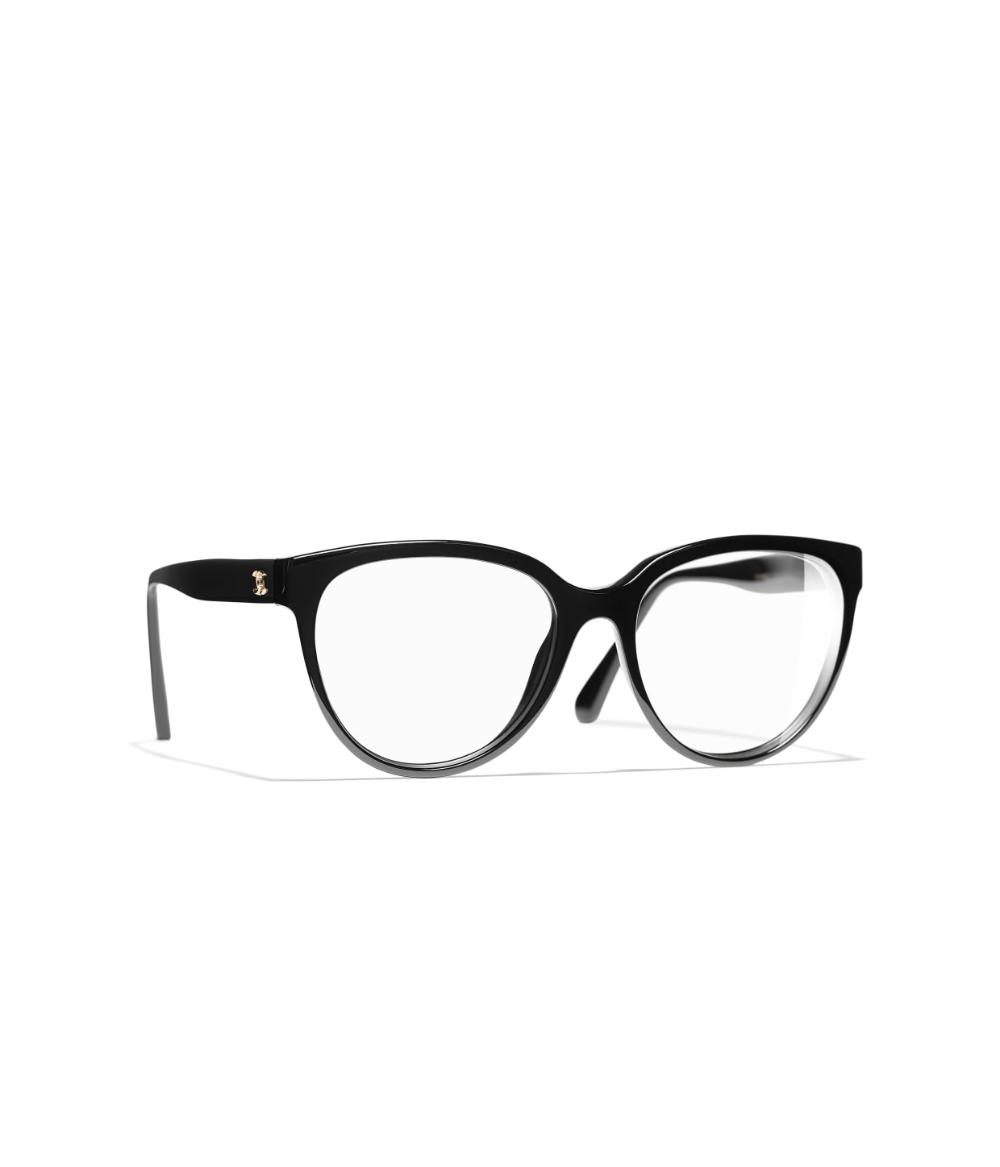 Butterfly Eyeglasses Acetate Black Butterfly Eyeglasses Chanel Chanel Eyewear Chanel Optical Chanel Glasses