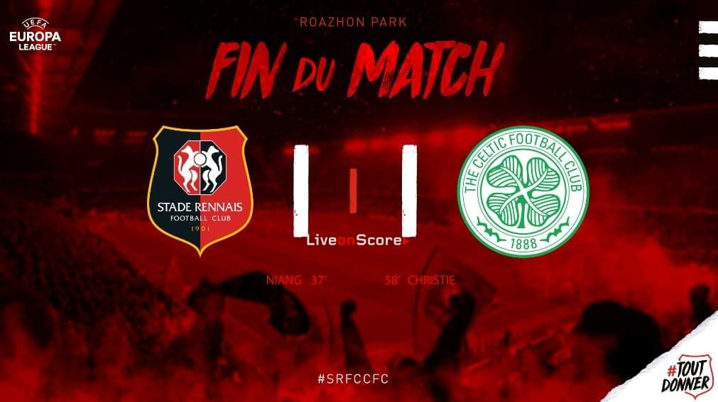 Rennes 1 1 Celtic Full Highlight Video Uefa Europa League Allsportsnews Football High All Sports News Football Leagues And Match Highlights Europa League Football Match Highlights
