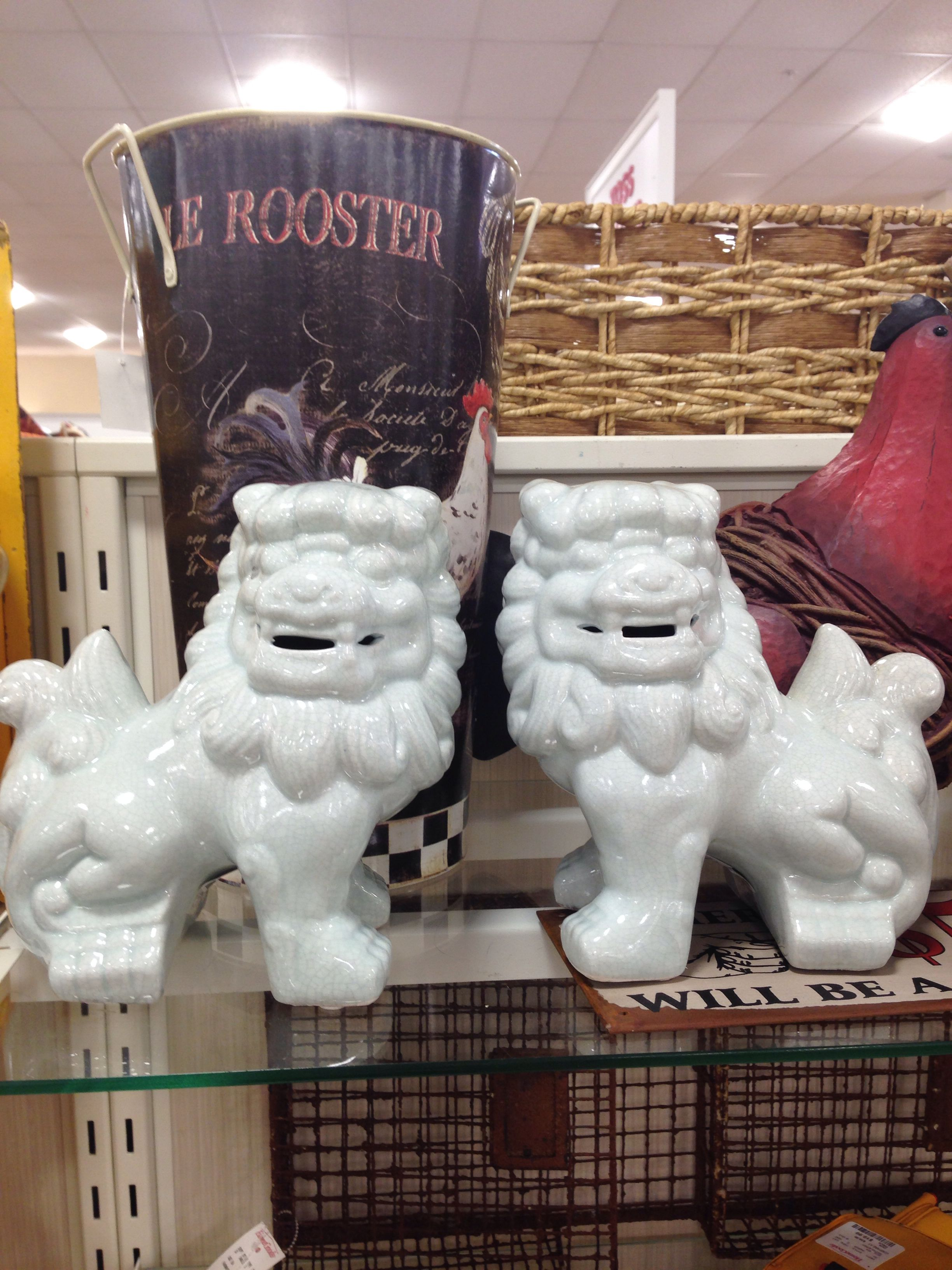 Foo dogs Home goods store, Foo dog, Home goods