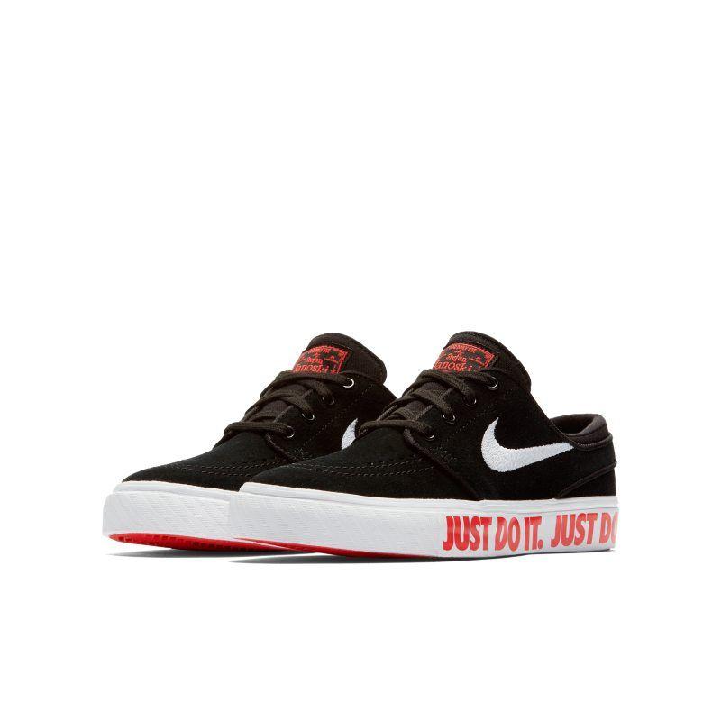 best website 216fd a1e5a Nike SB Stefan Janoski JDI Older Kids'Skateboarding Shoe - Black ...