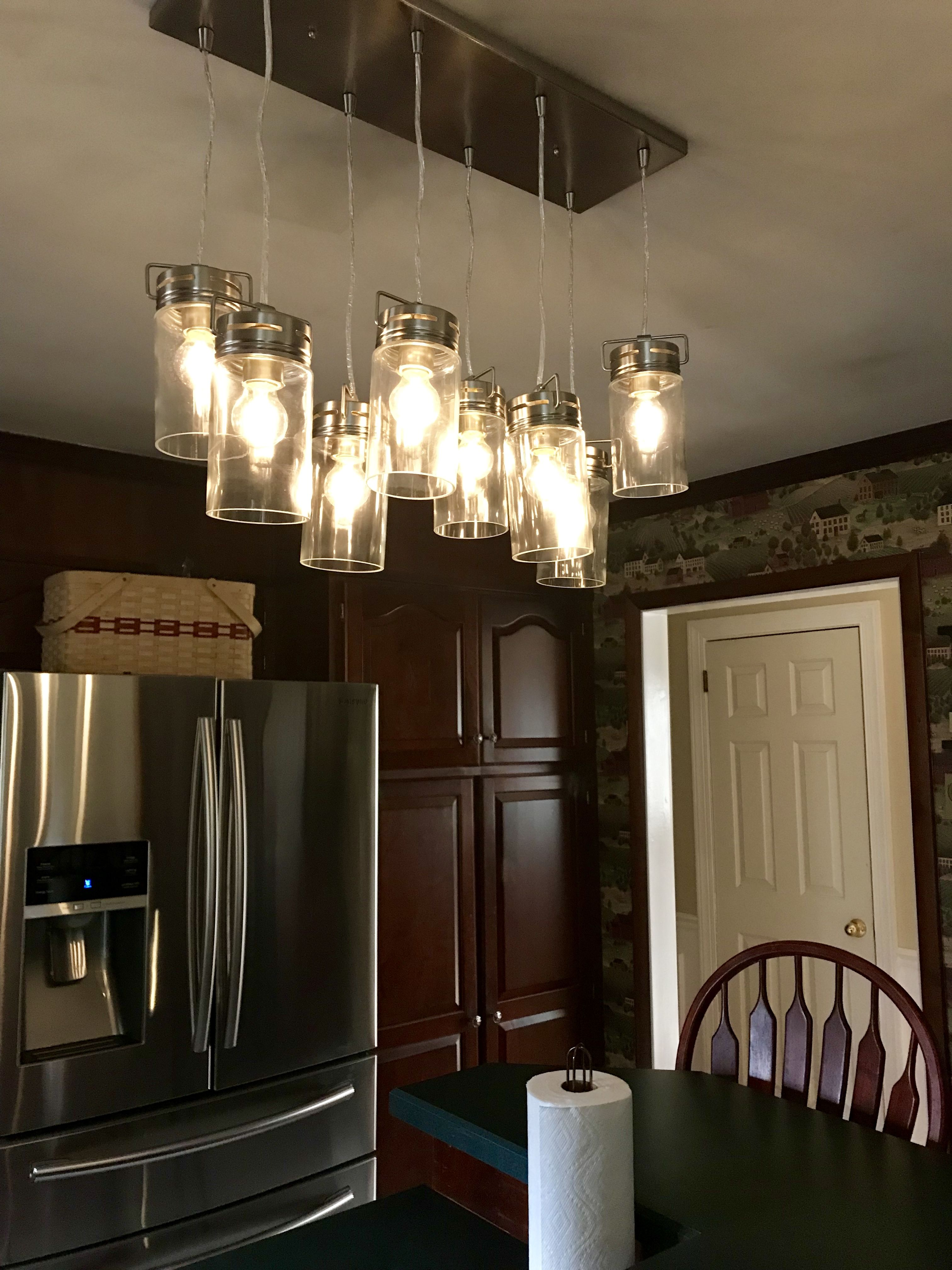Allen Roth Valleymede Light Fixture