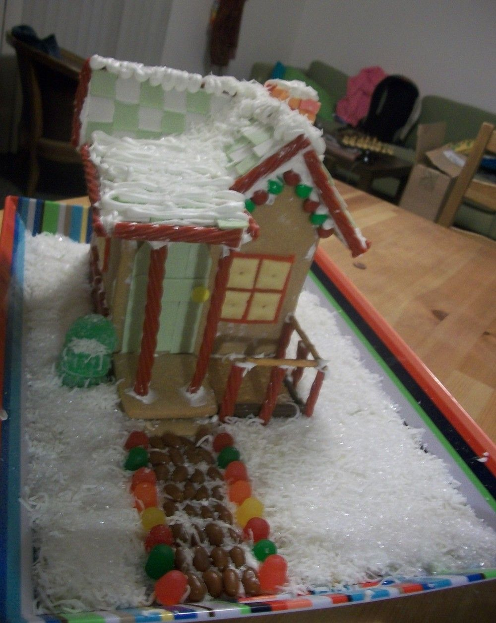Classic Christmas Gingerbread House