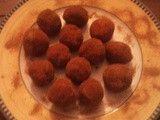 Boules de Noël aux biscuits à la cuillère (sans cuisson)