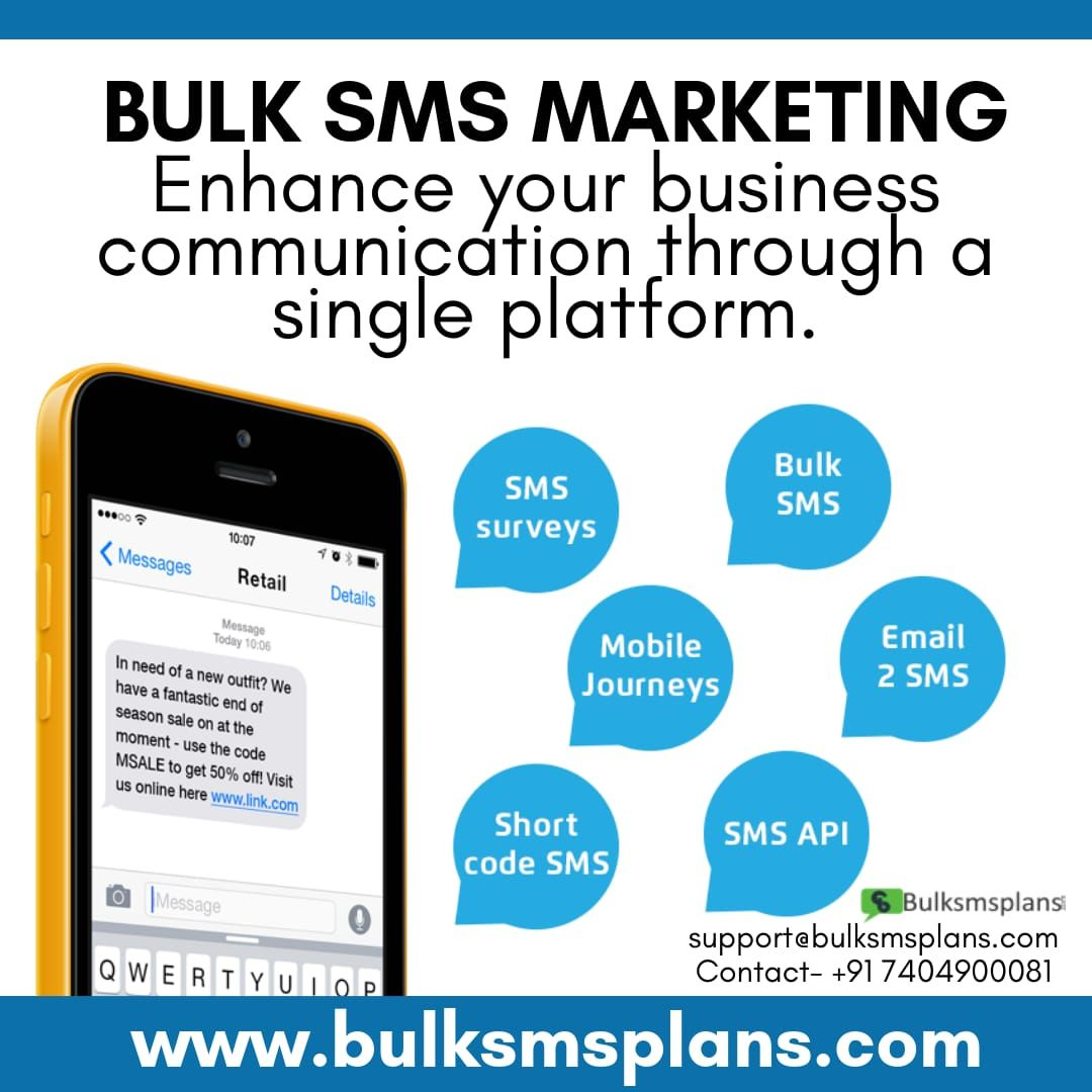 We Provides the International SMS Service to over 200+