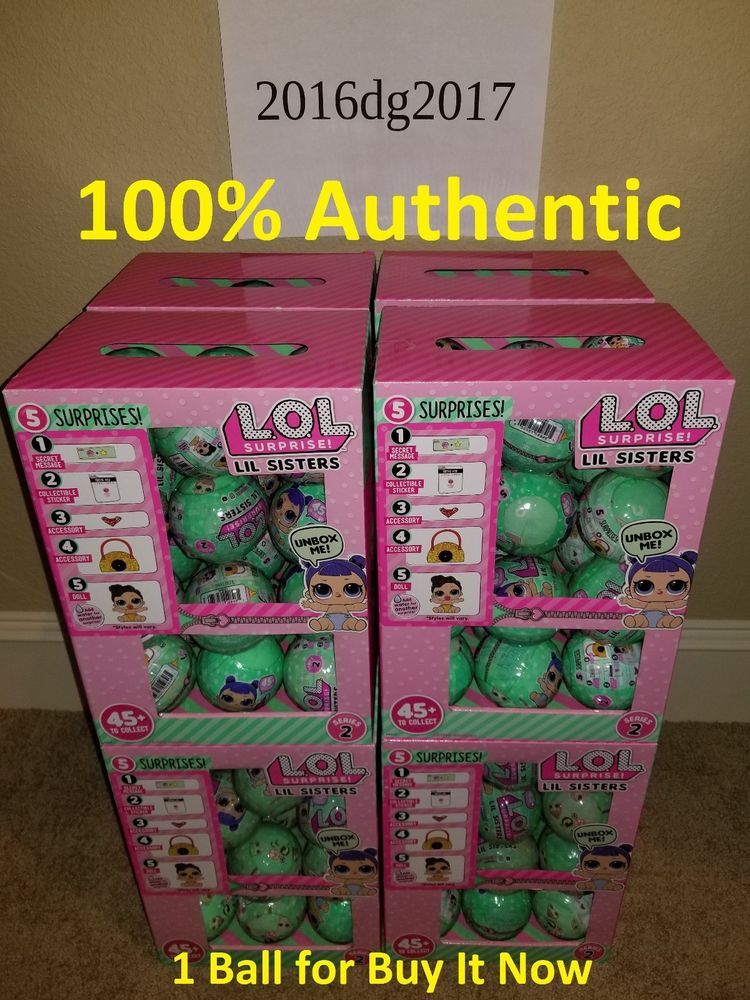 Lol Surprise Doll Lil Sis Little Sisters Tots Series 2 Wave 2
