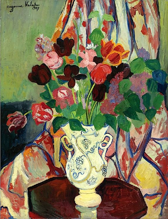"""Suzanne Valadon / Bouquet de Tulipes"""""""