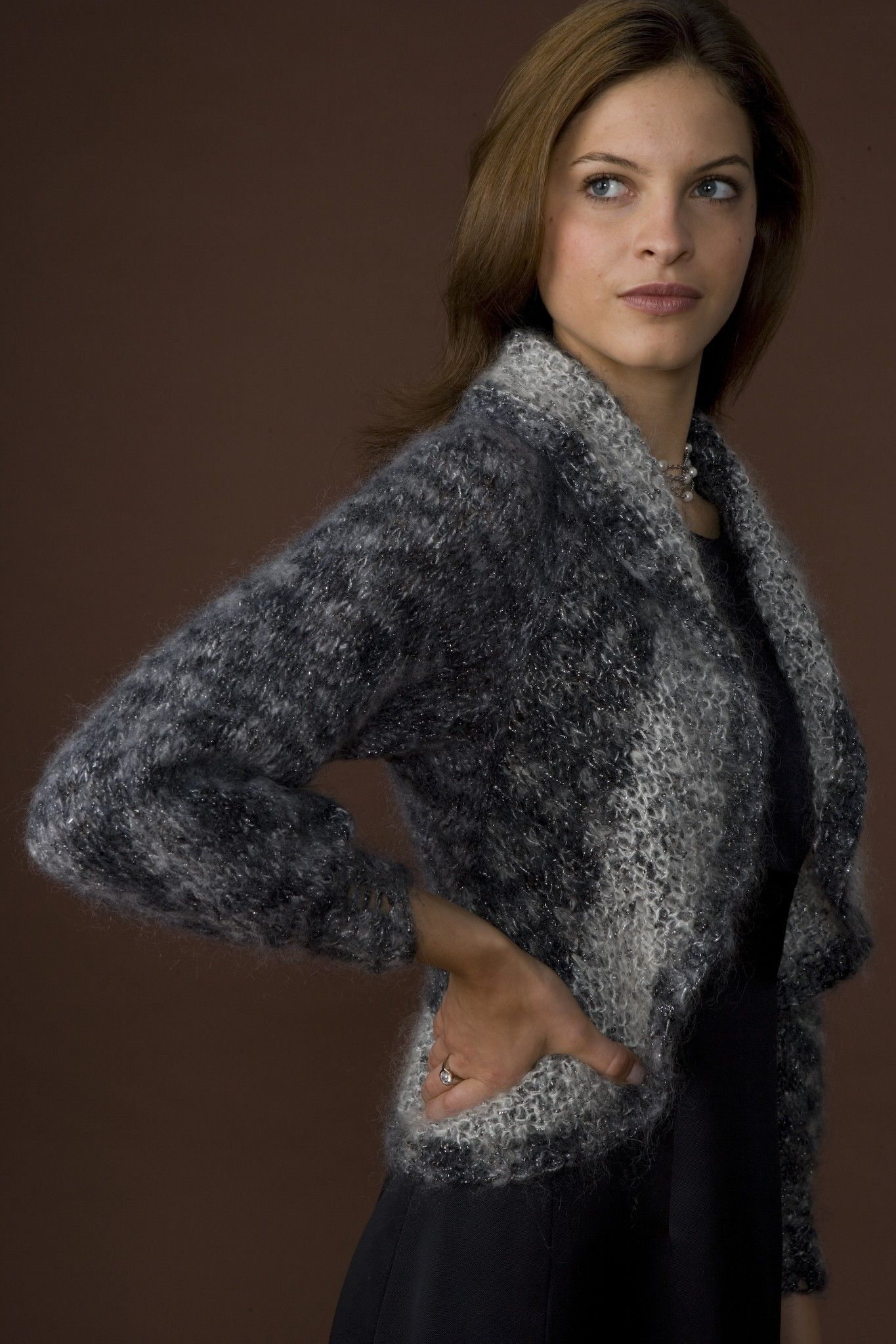 Shimmery Elegance Bolero Pattern (Knit) | Clickity Clack Knitting ...