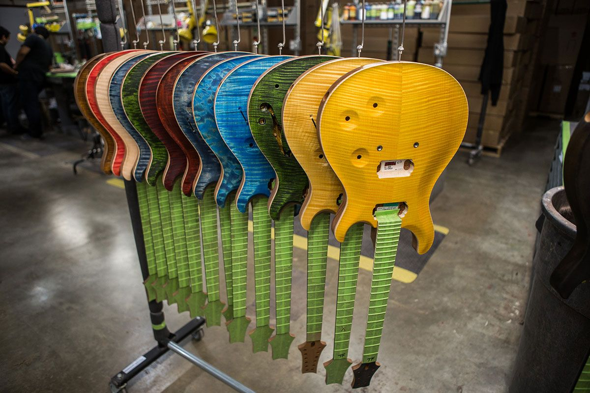 Prs Guitars Announces The Opening Of West Street East Museum And Factory Tours Guitar Girl Magazine Prs Guitar Guitar Guitar Girl