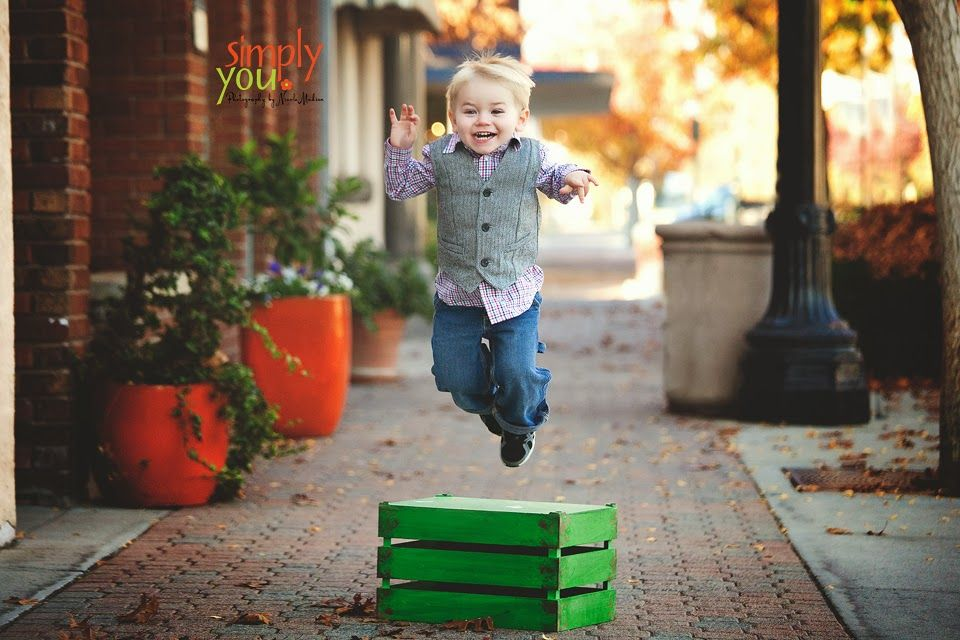Jumping for joy! Child photography Simply You. Photography by Nicole Madsen