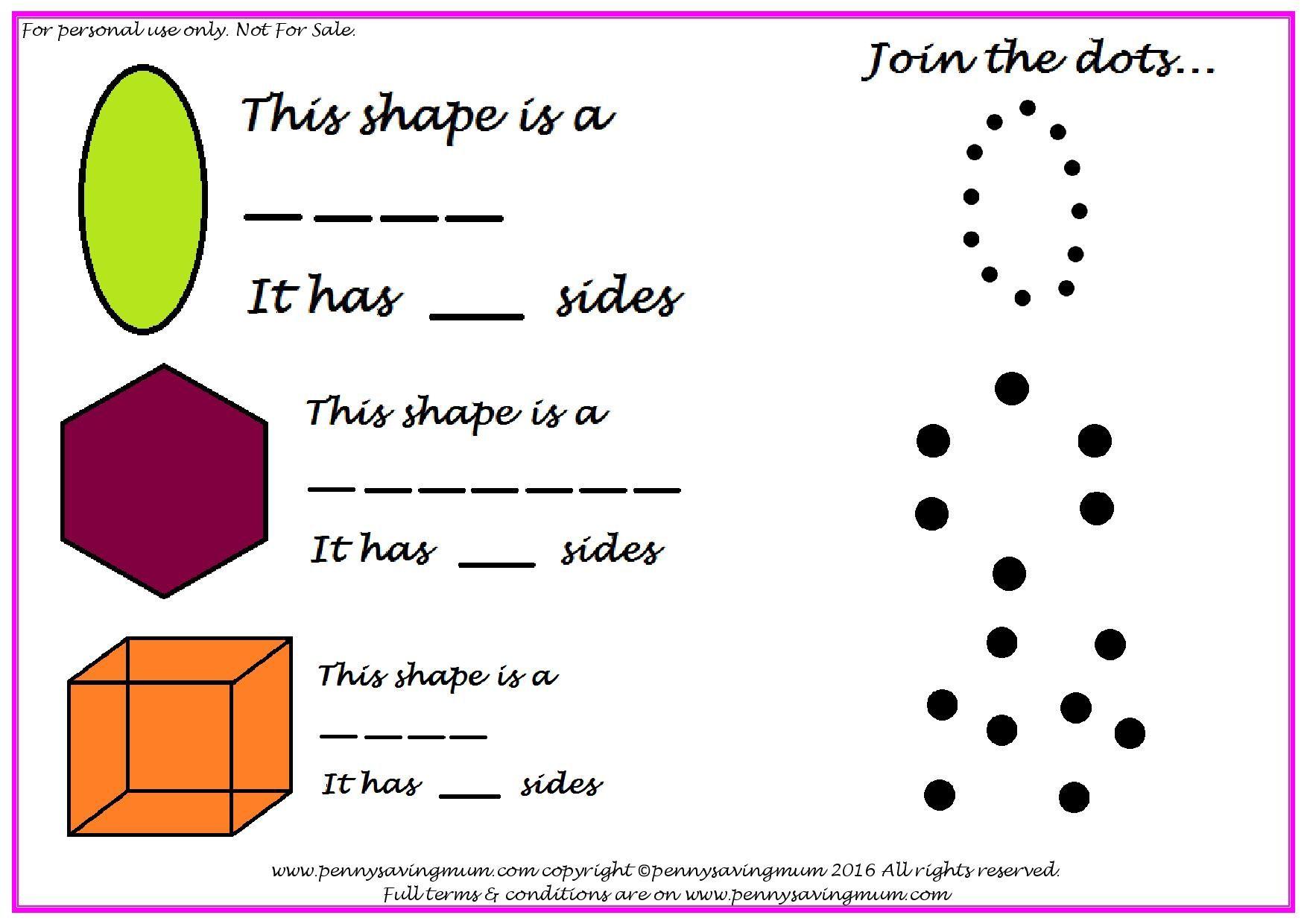 Shapes Pack PDF Shapes, Saving, Penny