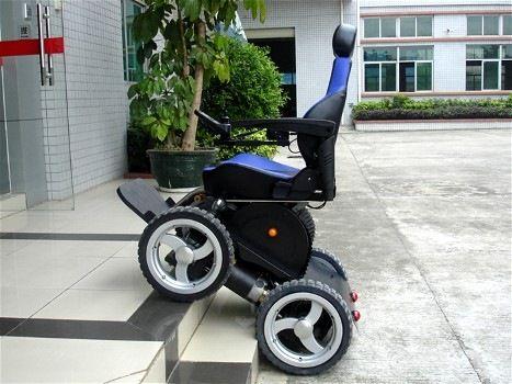 Viking 4x4 All Terrain Power Wheelchair Powered