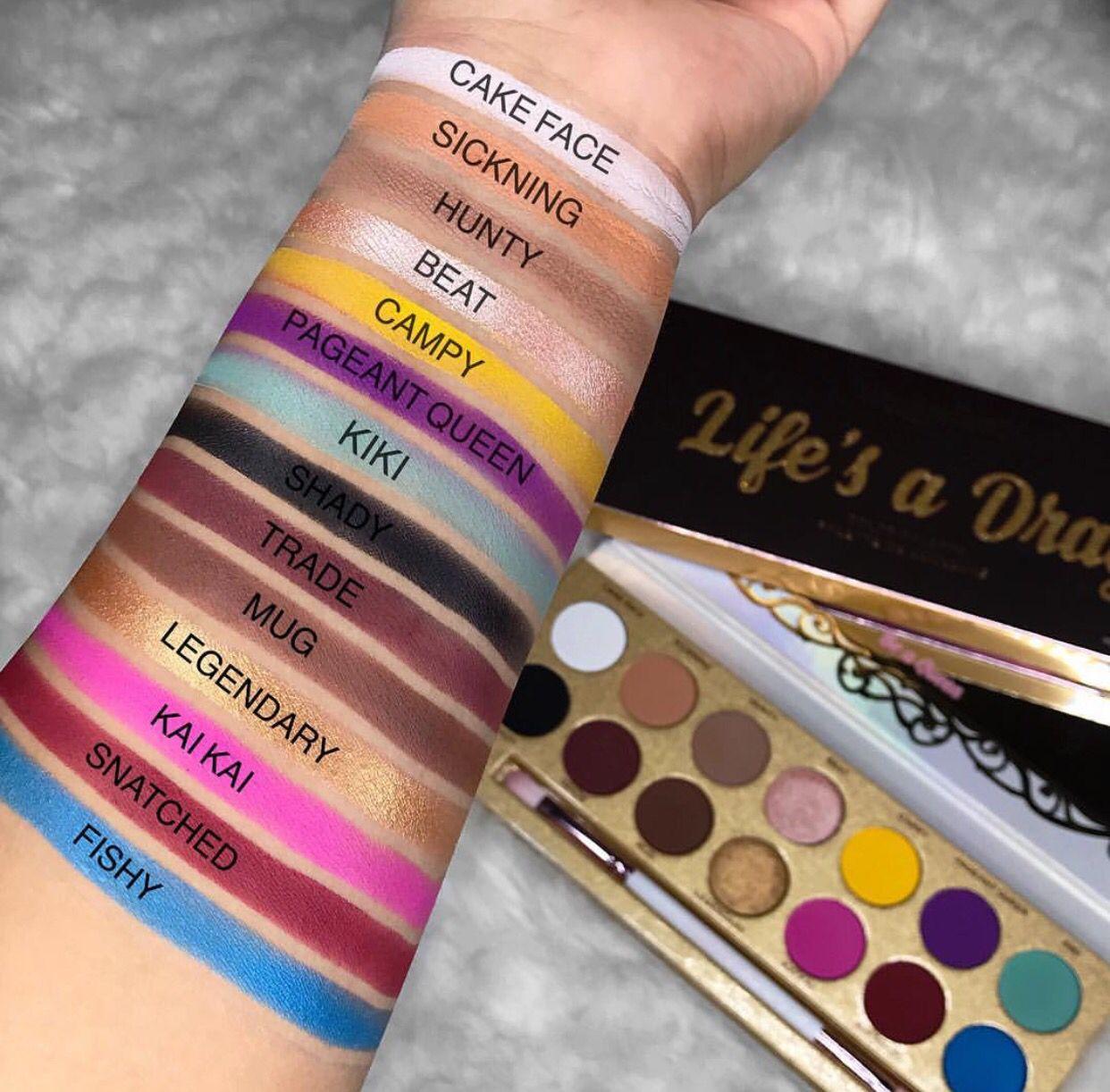 Life's a drag eyeshadow palette Natural eyeshadow