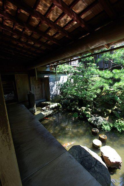 Samurai Residence garten Japanische häuser, Japanische