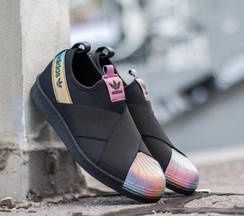 ffa246f86 adidas Originals adidas Superstar Slip On W Core Black  Core Black  FTW  White US 8.5 - Glami.cz