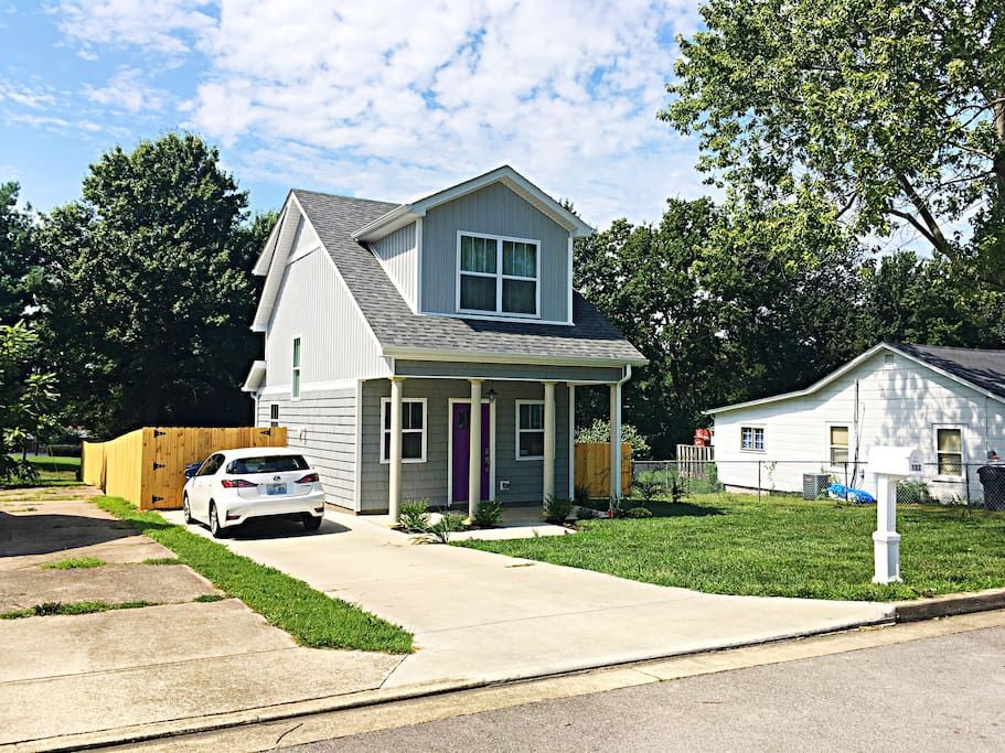 Purple Door Tiny House Airbnb Lexington Ky Renting