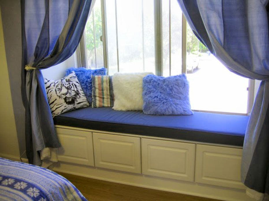 Image Of Window Seat Cushions Indoor Bench Home Decor Bedroom