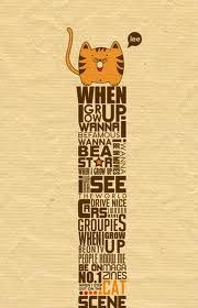 Cute typographical image #typography
