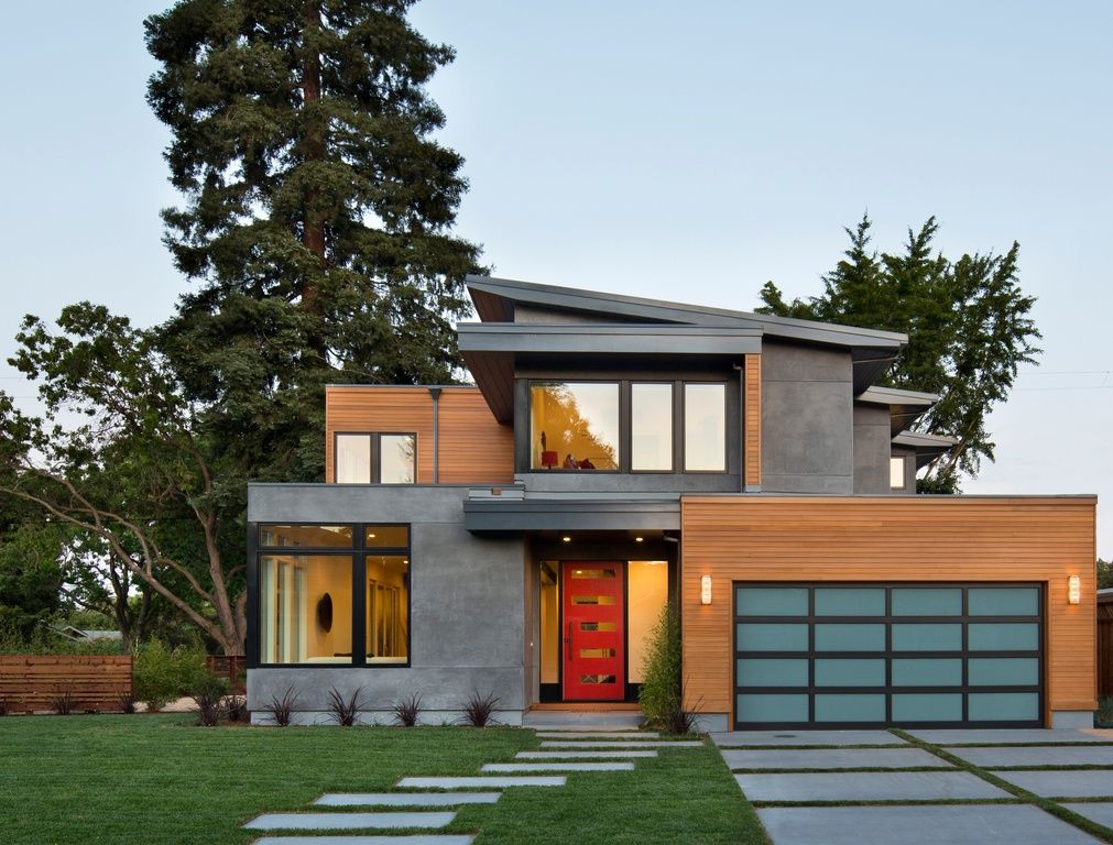 Contemporary exterior house more