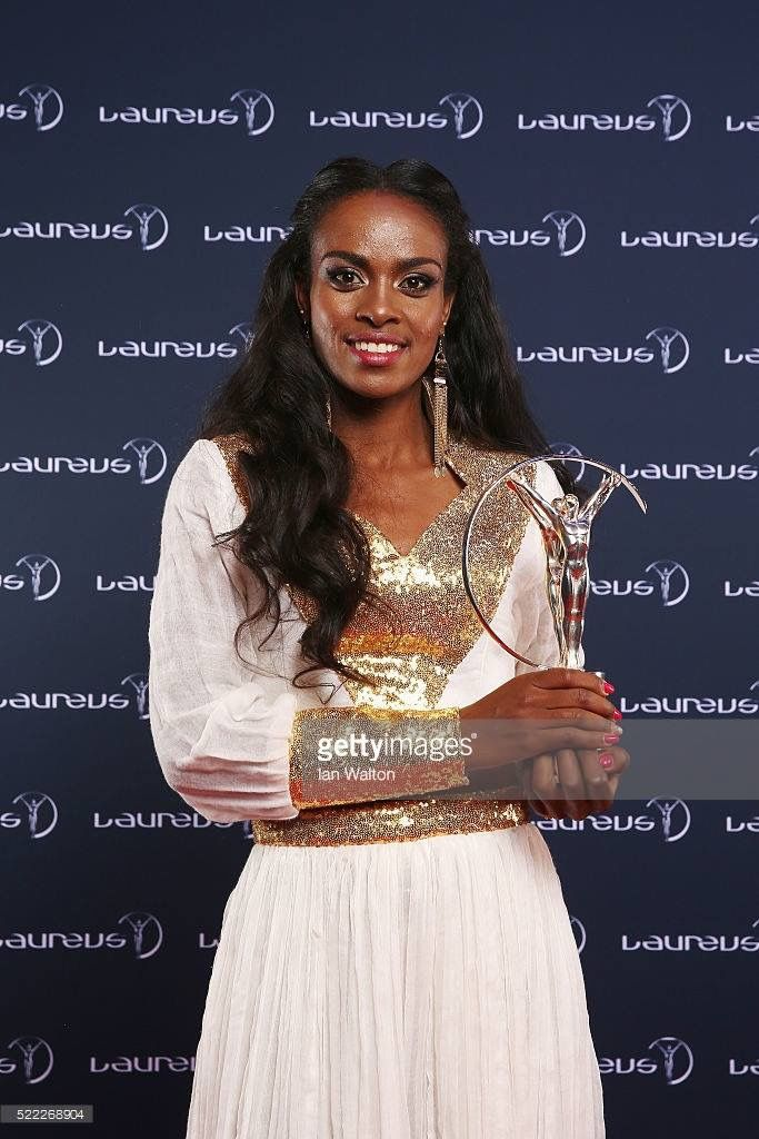Genzebe dibaba wedding dress