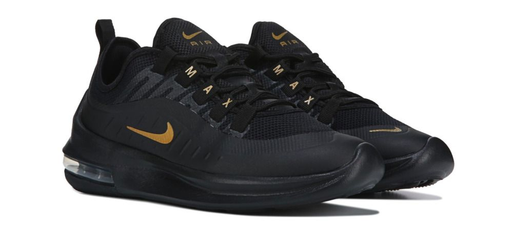5c219420 New Womens Nike Air Max Axis Athletic Running Training Shoes Sneakers Black  Gold - Nike Airs