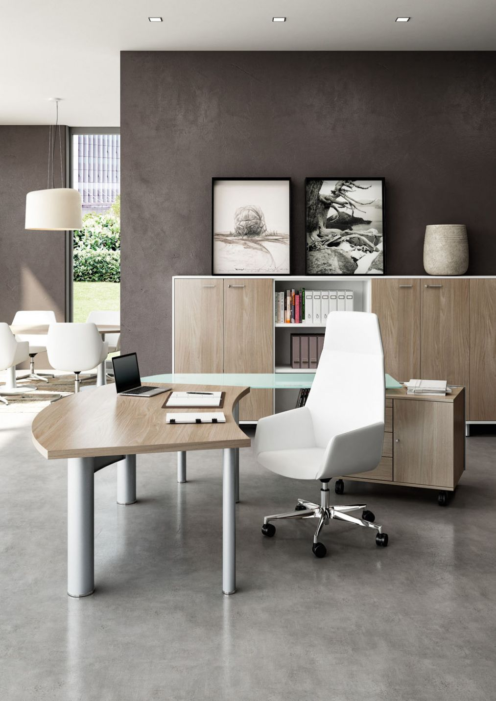 Sleek Office Desk Home Office Furniture Collections Check More  # Dakar Table Tele En Bois Massif