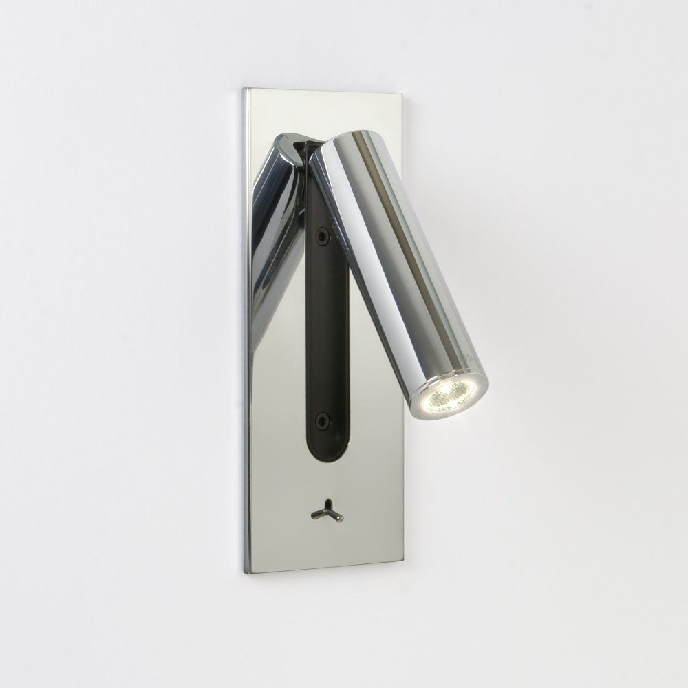 Astro Lighting Fuse 0996 Chrome Led Switched Contemporary Reading Light From Lightplan Uk