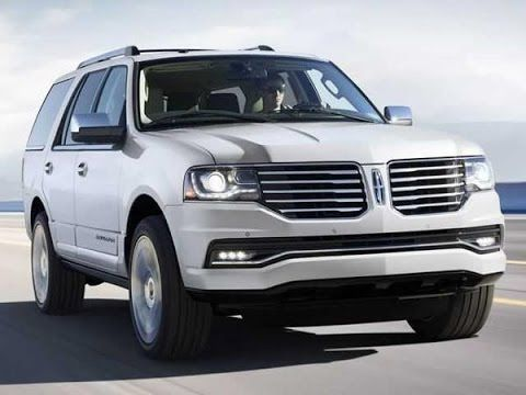 2017 Lincoln Navigator Concept, Redesign and Changes