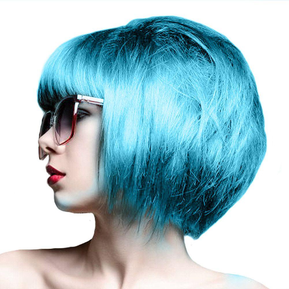 Crazy color semipermanent hair dye ml blue jade semi
