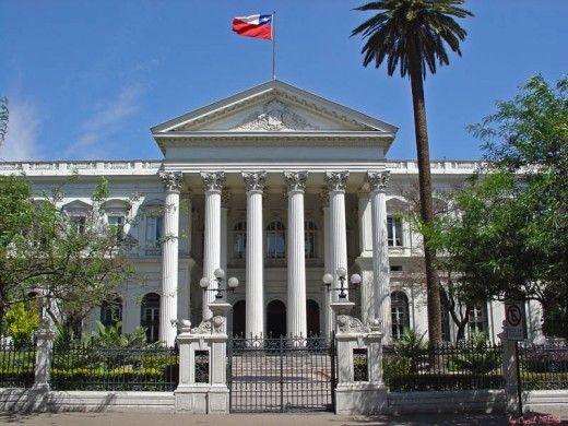 Ex Congreso Nacional Chile Congress Building Santiago