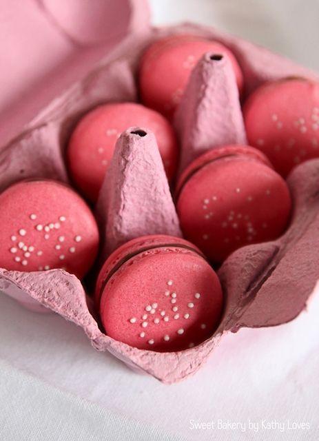 Perfekte Macarons, Grundrezept - Macaron Monday by Kathy Loves