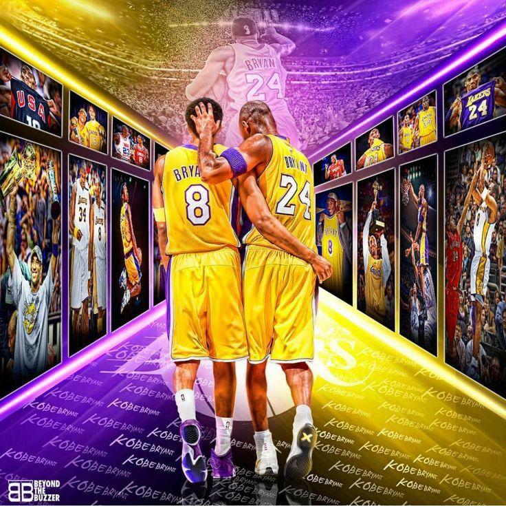 Pin by Markie Mark on Los Angels Lakers in 2020 Kobe
