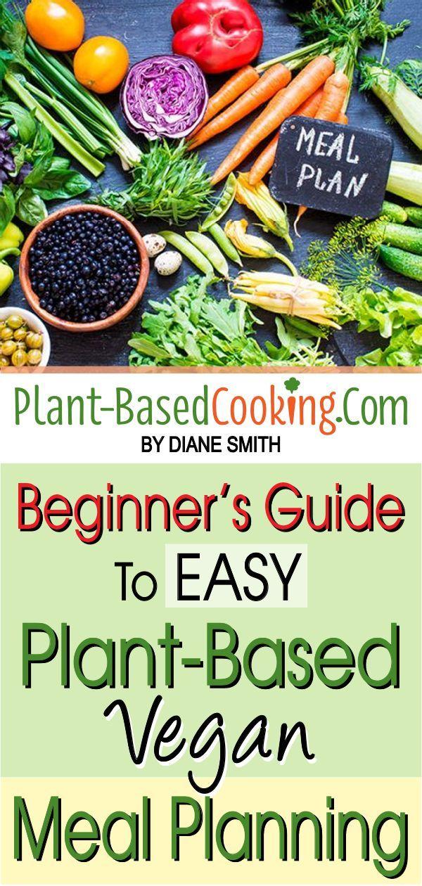 Beginner's Guide to Easy Plant-Based Vegan Meal Planning images
