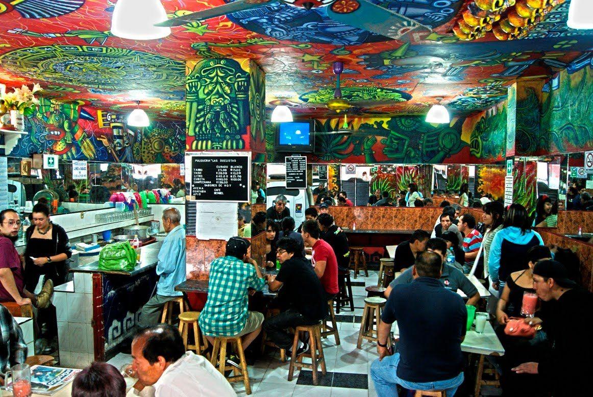 Las Mejores Pulquerias De La Cdmx Ciudad De Mexico Cultura Mundial Viajes