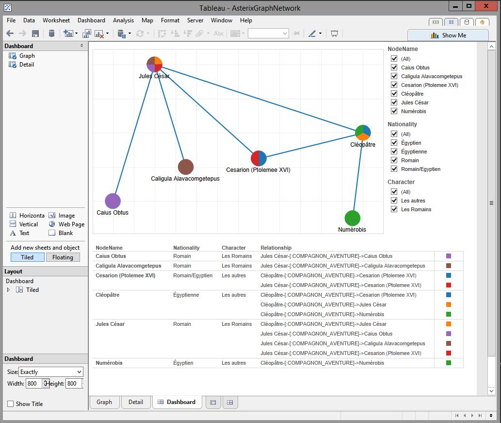 Tableau Network Graph Tableau Software