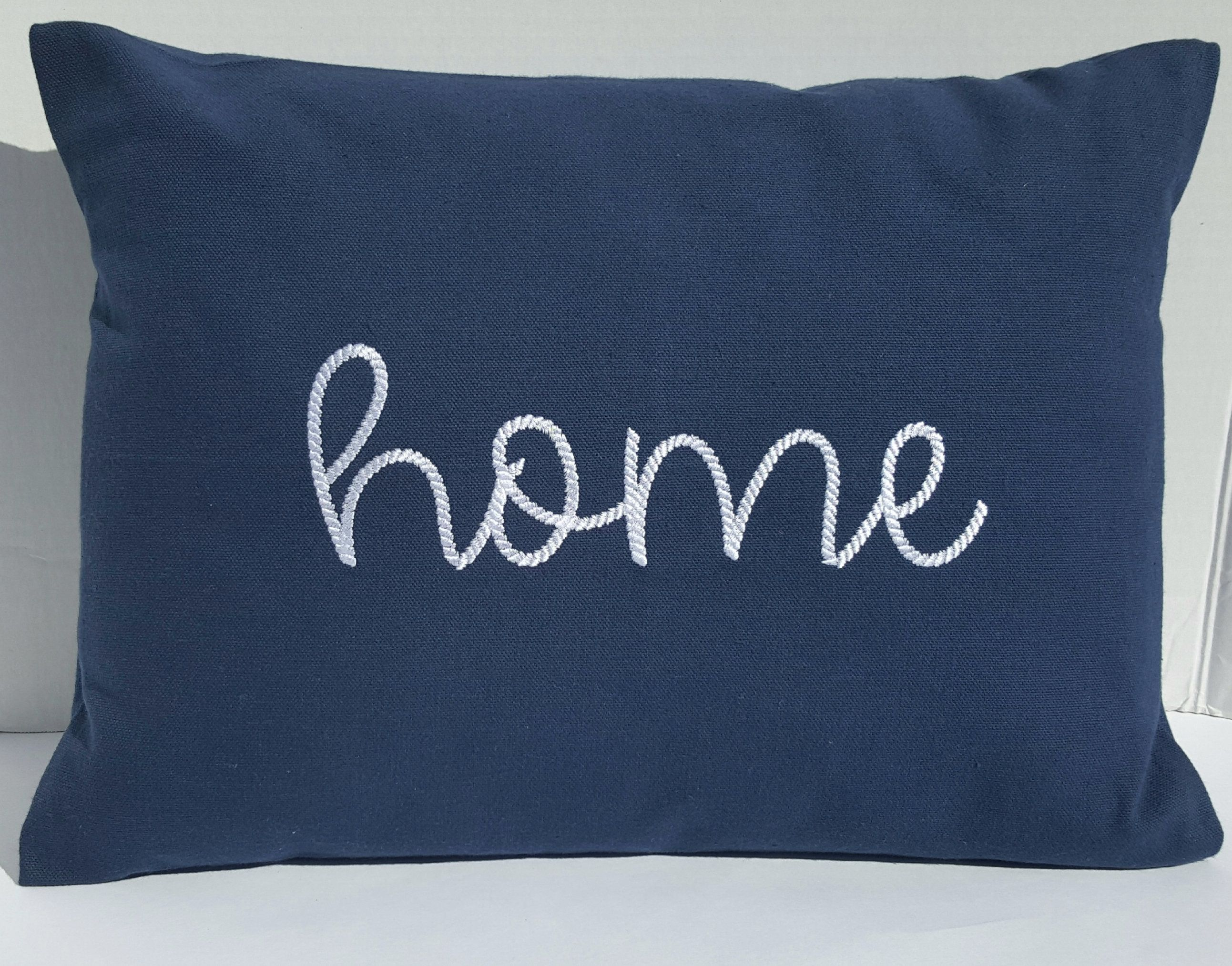 12 X 16 Handcrafted Home Sentiment Pillow Cover Etsy Etsy Pillow Covers Pillows Pillow Covers